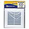 Grille de ventilation 140x140 mm blanche