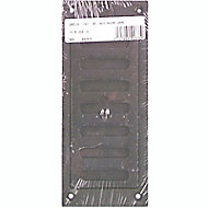 Grille en fonte pour cheminée 180x75 mm