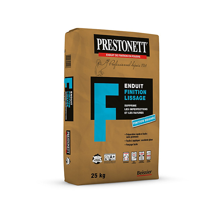 Enduit De Finition Prestonett 25kg Castorama