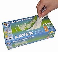 Boîte de 100 gants latex - Taille 10 (XL)