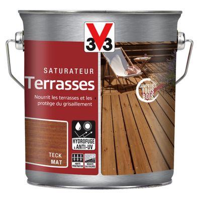 Saturateur Terrasses V33 Teck 2 5l Castorama