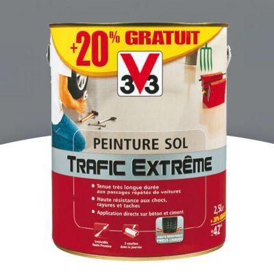 Peinture Sol IntrieurExtrieur V Trafic Extrme Gris Fonc Satin