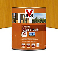 Lasure bois classique V33 Chêne naturel 1L - 4 ans