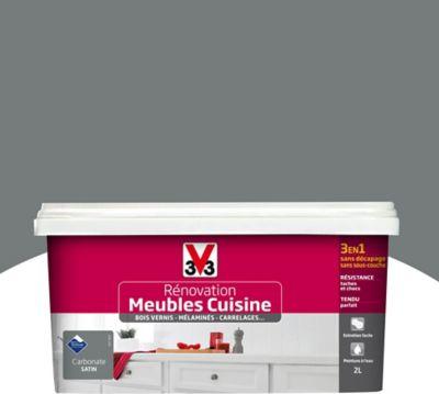 Peinture De Renovation Meubles Cuisine V33 Carbonate Satin 2l