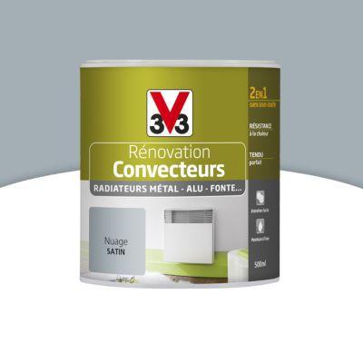 peinture de r novation convecteurs et radiateurs v33 nuage satin 0 5l castorama. Black Bedroom Furniture Sets. Home Design Ideas