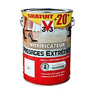 Vitrificateur passages extrêmes Incolore mat 5L + 20%