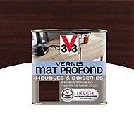 Vernis meubles et boiseries V33 Mat profond wengé mat 0,5L