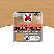 Vernis meubles et boiseries V33 Brillant reflet chêne clair brillant 0,5L