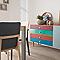Vernis meubles et boiseries V33 Relooking Pop turquoise tropical satin 0,5L