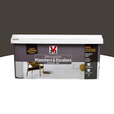 Peinture de rénovation planchers et escaliers V33 platinium satiné ...
