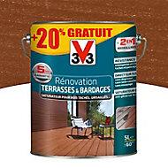 Rénovateur terrasses et bardages Pin iluka V33 5L + 20%