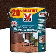 Rénovateur terrasses et bardages Wengé V33 5L + 20%