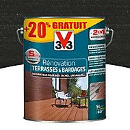 Rénovateur terrasses et bardages Anthracite V33 5L + 20%