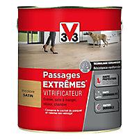 Vitrificateur parquet et plancher V33 Passages extrêmes incolore satin 2,5L