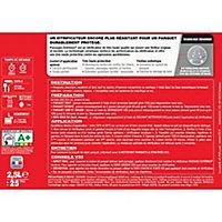 Vitrificateur parquet et plancher V33 Passages extrêmes chêne moyen satin 2,5L
