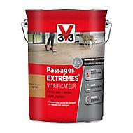 Vitrificateur parquet et plancher V33 Passages extrêmes chêne moyen satin 5L