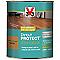 Vitrificateur parquet et plancher V33 Direct protect chêne moyen satin 0,75L