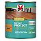 Vitrificateur parquet et plancher V33 Direct protect chêne moyen satin 2,5 L