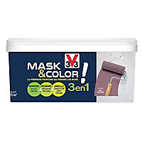 Peinture de rénovation multi-supports V33 Mask & color bruyère mat 2,5L