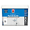 Peinture de protection mur de douche V33 blanc satiné 2L