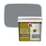 Peinture de rénovation sol et escalier V33 galet satin 0,75L