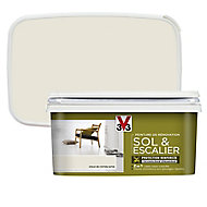 Peinture de rénovation sol et escalier V33 voile de coton satin 2L