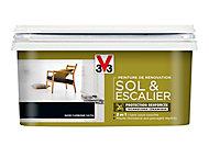 Peinture de rénovation sol et escalier V33 noir carbone satin 2L