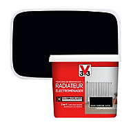 Peinture de rénovation radiateur électroménager V33 noir carbone satin 0,75L