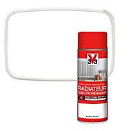 Peinture de rénovation aérosol radiateur électroménager V33 blanc satin 400ml