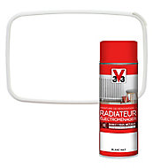 Peinture de rénovation aérosol radiateur électroménager V33 blanc mat 400ml