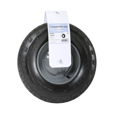 Roue gonflée Ø400 mm pour brouette HAEMMERLIN