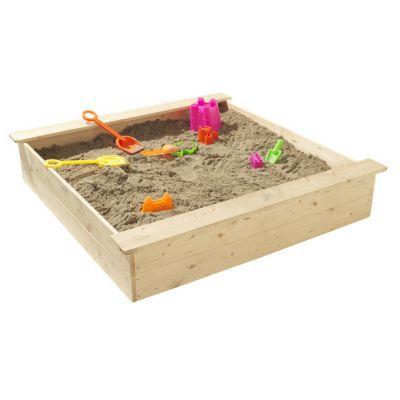Bac à sable bois SOULET 118 x 118 cm