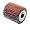 Rouleau cylindre abrasif souple ø60 mm BOSCH - Grain 120