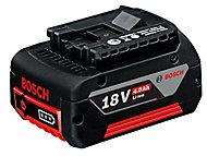 Batterie lithium-Ion Bosch bleu 18 V - 4 Ah