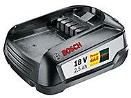 Batterie lithium-Ion Bosch 18V - 2.5Ah