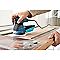 Ponceuse excentrique Bosch bleu GEX125-1AE 125 mm, 250W