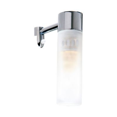 Applique pour miroir salle de bains aric inos chrome satin castorama - Lampe pour salle de bain ...