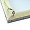 Cordon de suspension acier avec pitons et bagues de serrage