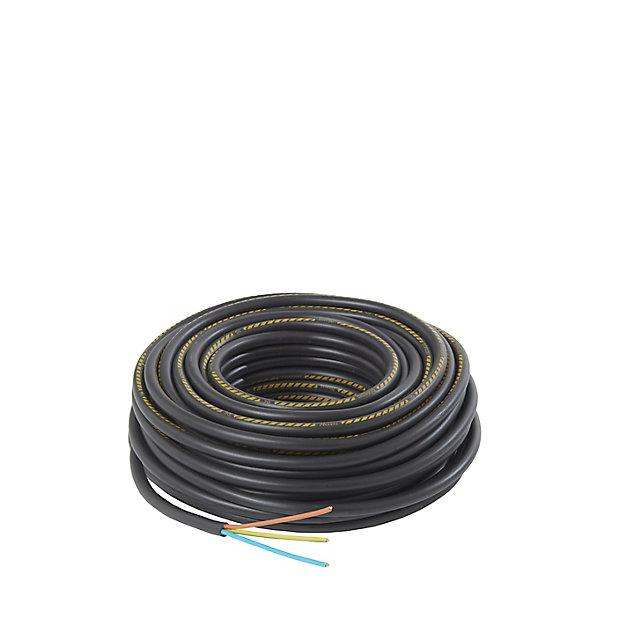 Cable Electrique U1000r2v 3x2 5 Mm 25 M Castorama