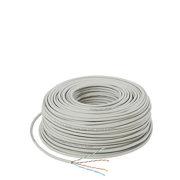 Cable Ethernet Lan Cat5e Ftp 100 M Castorama