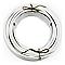 Câble électrique flexible H03VVF 3x0,75mm² Blanc - 10m