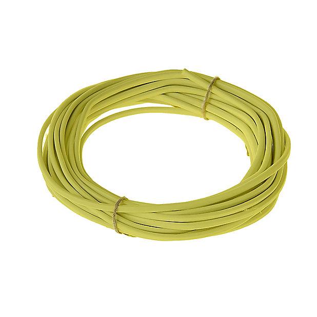 Cable 2x0 75 Mm H03vvh2f Or Couronne 10m Castorama