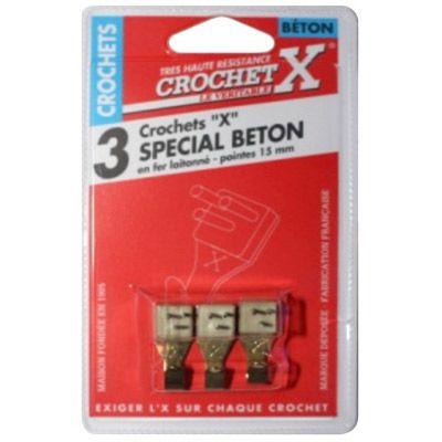 3 Crochets De Fixation X Special Beton Castorama