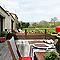 Lame bois composite Dirickx WPC Cottage brun foncé et marron 8019
