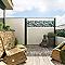 Lame bois composite DIRICKX WPC Cottage brun clair et vert 6005
