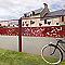 Décor semi-ajouré DIRICKX Cottage rouge 3004