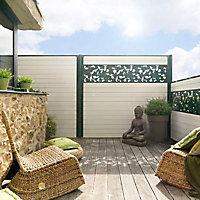 Décor semi-ajouré Dirickx Cottage vert 6005