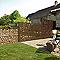 Poteau sur platine L.160 cm Dirickx Cottage marron 8019