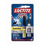 Superglue-3 Spécial Plastiques tube 2gr + stylo 4 ml LOCTITE