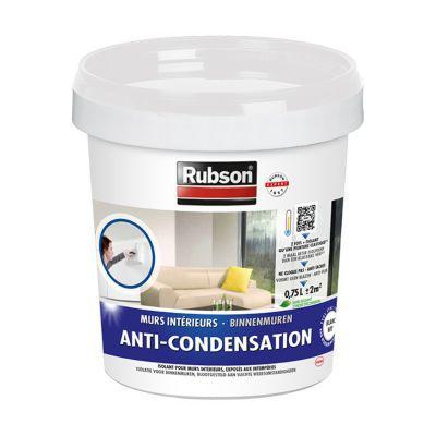 Peinture anti condensation rubson blanc 0 75l castorama - Peinture anti humidite pour salle de bain ...